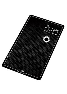 The Pocket Protector - Coin - Stores data for up to eight cards - credit, gift, and debit cards on one card-like device.  It ships this summer. $100; available for preorder for $50 at onlycoin.com.