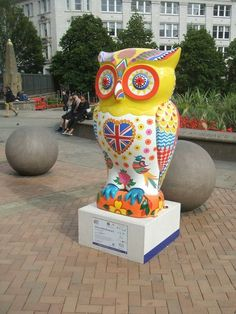 UNITY within DIVERSITY Owl raised 8,500 pounds at auction for the Children's Hospital