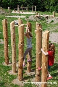 Kids Playground Inspirations for Your Dream House www. playground natural playgrounds ideas for kids playground playground ideas concept criativo Kids Outdoor Play, Outdoor Play Spaces, Kids Play Area, Backyard For Kids, Outdoor Fun, Play Areas, Natural Outdoor Playground, Outdoor Games, Playground Design