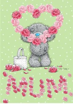♡ Tatty Teddy ~ Mum ♡