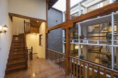 Rehabilitation of Casa Juan Jaramillo designed by Surreal Estudio for Inmobiliaria San Alberto Magno in #Cuenca #Ecuador