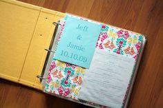 Bridal/Baby Book- Organization