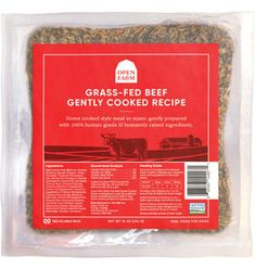 Open Farm Open Farm Frozen Dog Food Gently Cooked | Beef 8 oz (*Frozen Products for Local Delivery or In-Store Pickup Only. *) Christmas Donuts, Raw Pet Food, Dog Food Recipes, Cooking Recipes, Frozen Dog, Beef Liver, Grass Fed Beef, Good Food, Delivery
