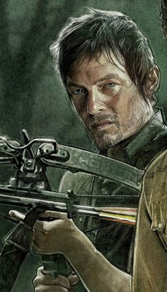 The Walking Dead by Paul Shipper, via Behance