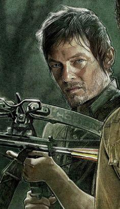 The Walking Dead by Paul Shipper, via Behance