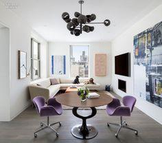 interiordesignmagazine:  An Art-Filled NYC Duplex by Steven...