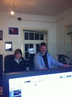 Studio/-Videoproduktion einem unserer geförderten Talente ist im Kasten! Great Job, Dominik!