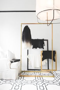 Luxe Clothes Rack by I'll Hang It Here