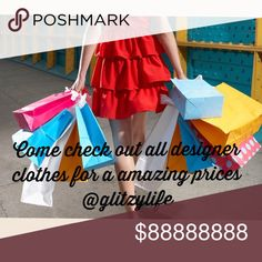 Lots Of Designer Clothes For Amazing Prices. LQQK Come check out it out! Accessories
