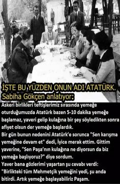 Fotoğraf Turkish People, Turkish Army, Great Leaders, Science Classroom, The Republic, Revolutionaries, Deep Thoughts, Humor, Cool Words