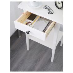 IKEA - HEMNES Nightstand white stain