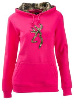 Browning Buckmark Mossy Oak Camo Hoodie for Ladies | Bass Pro Shops