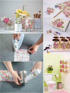 50 Jaw-Dropping Ideas for Upcycling Tin Cans Into Beautiful Household Items! Tin Can Crafts, Jar Crafts, Crafts To Sell, Easy Home Decor, Diy Home Crafts, Crafts For Kids, Recycled Tin Cans, Recycled Crafts, Creation Deco