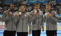2012 USA Olympic Men's Swimming relay 4x100