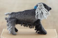 Cocker Spaniel from Best in Show: Knit Your Own Dog by Sally Muir and Joanna Osborne. Published by Pavilion.