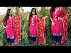 Namaste 🙏😊 (How to decorate plain kurti) In this video I have showed that how can you prepare a stylish kurti using plain fabric and some laces . Plain Kurti, Types Of Women, Anarkali Suits, Trending Fashion, Fashion Trends, Steps Youtube, Sewing Patterns, Cover Up, Clothes For Women