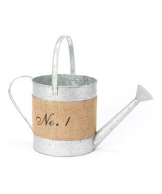 Another great find on #zulily! 'No.1' Watering Can #zulilyfinds