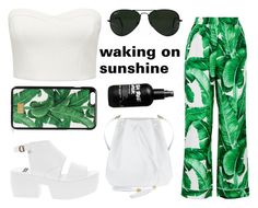 """""""summer feeling"""" by styles-fashions on Polyvore featuring Dolce&Gabbana, Vagabond, Forever New and Ray-Ban"""