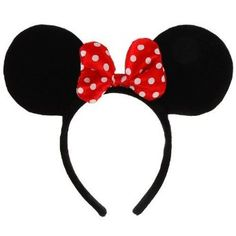 Complete any Disneyland or Disney World trip with these Disney Licensed Minnie Mouse Costume Ears/Headband!