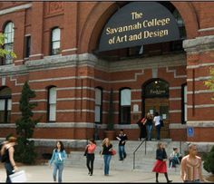 SCAD: Savannah College for Art and Design<3