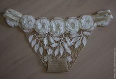 Irish Lace panties by Elloth. Interesting. Back…                                                                                                                                                                                 Mais