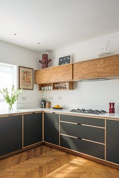 Islington Kitchen By Uncommon Projects 15. Plywood Cabinets ...