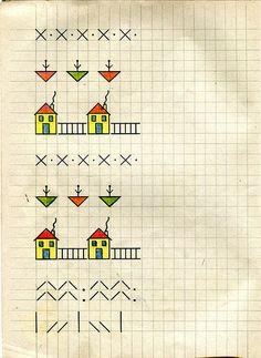 bella scrittura - scuola elementare e materne - anni 60 | Flickr - Photo Sharing!