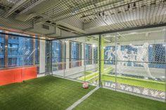 Nike+ Soccer Trial Zone at Nike Soho