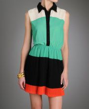 Gracia Colorblock Lady Dress!    www.southmoonunder.com
