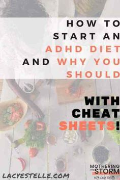Starting an ADHD Diet, Foods to Eat on an ADHD Diet, Foods to avoid for Gut-brain-health Adhd Brain, Gut Brain, Brain Food, Brain Health, Gut Health, Mental Health, Types Of Adhd, Adhd Help, Adhd Diet