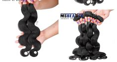 1) Material: 100% human hair,Brazilian virgin hair. 2) Human Hair Length: We measure the length of hair when the hair be stretched to straight. 3) Hair Color: Natural.black 4) Style: body wave 5) Quality: No shedding,no tangles,no lice,top quality. 6) Hair Weight: About 95g-100g/piece