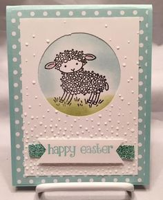 Easter Lamb Stampin Up