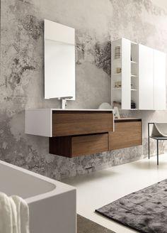 Pedini NY provides modern and Italian bathroom designs in Manhattan NYC. Vintage Bathroom Decor, Vintage Bathrooms, Modern Bathroom Decor, Bathroom Designs, Bathroom Ideas, Wooden Bathroom, Condo Bathroom, Bathroom Furniture, Bathroom Interior
