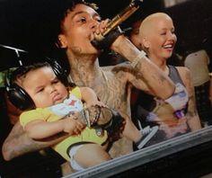Wiz Khalifa x Amber Rose and Baby Bash