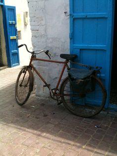 The bicycle story, part 1 Essaouira Medina, Bicycles, Food, Meals, Bicycle, Yemek, Riding Bikes, Eten
