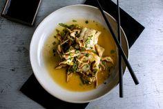 Fish with Shitake Mushrooms