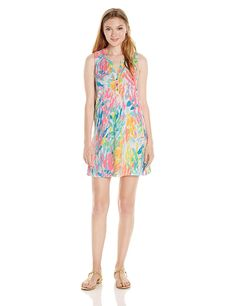 6ed6abc98be Lilly Pulitzer Womens Essie Dress at Amazon Womens Clothing store