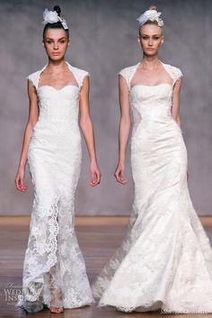 Love these wedding dresses
