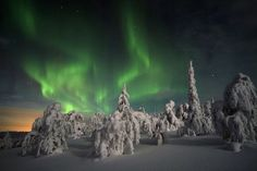 Look at the view! Northern Lights - Finland