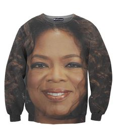 This Oprah's Face Sweatshirt Is My Everything - The Frisky