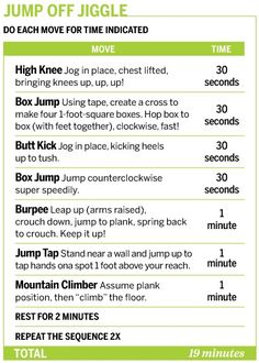 Jumping workout!