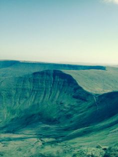 Black mountains, Hay on Wye
