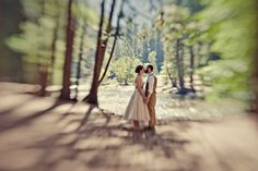 Carly and Tim's Rustic Chic Wedding in the heart of the Californian National Park