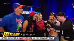 "James Ellsworth and Carmella probably should have thought twice before calling Nikki Bella and John Cena ""phonies"" on WWE SmackDown Live...."
