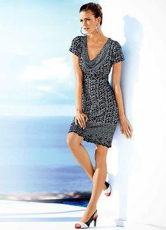Heine Paisley Print Dress