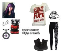 """""""Motionless In White concert"""" by stayawayfromsquidgytheoutcast ❤ liked on Polyvore featuring Torrid and Converse"""