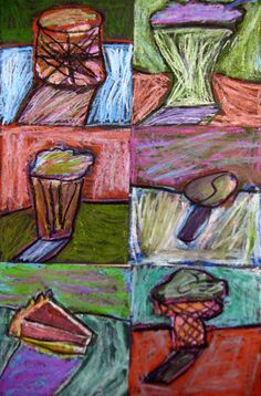 Experiments in Art Education: 3rd Grade