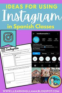 Spanish Classroom, Teaching Spanish, Classroom Ideas, High School Spanish, Spanish 1, Spanish Projects, Class Projects, Language Lessons, Project Based Learning