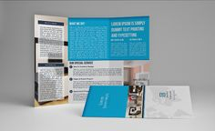 Trifold Brochure For SchoolV By Template Shop On - Indesign trifold brochure template
