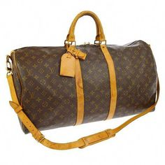 6277db00b38 Authentic Louis Vuitton Keepall 55 Bandouliere Louis Vuitton Vintage on  Etsy
